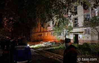 Two people hurt in household gas explosion in apartment block in Tyumen - TASS