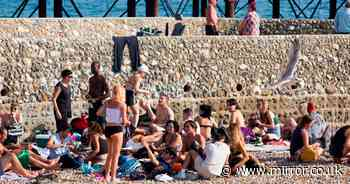 Beaches and parks filled with sunseekers despite 'rule of six' Covid-19 measures
