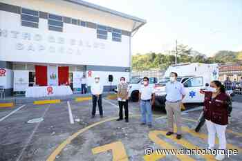 Transfieren ambulancia, camioneta y motocicleta al Hospital de Saposoa - DIARIO AHORA