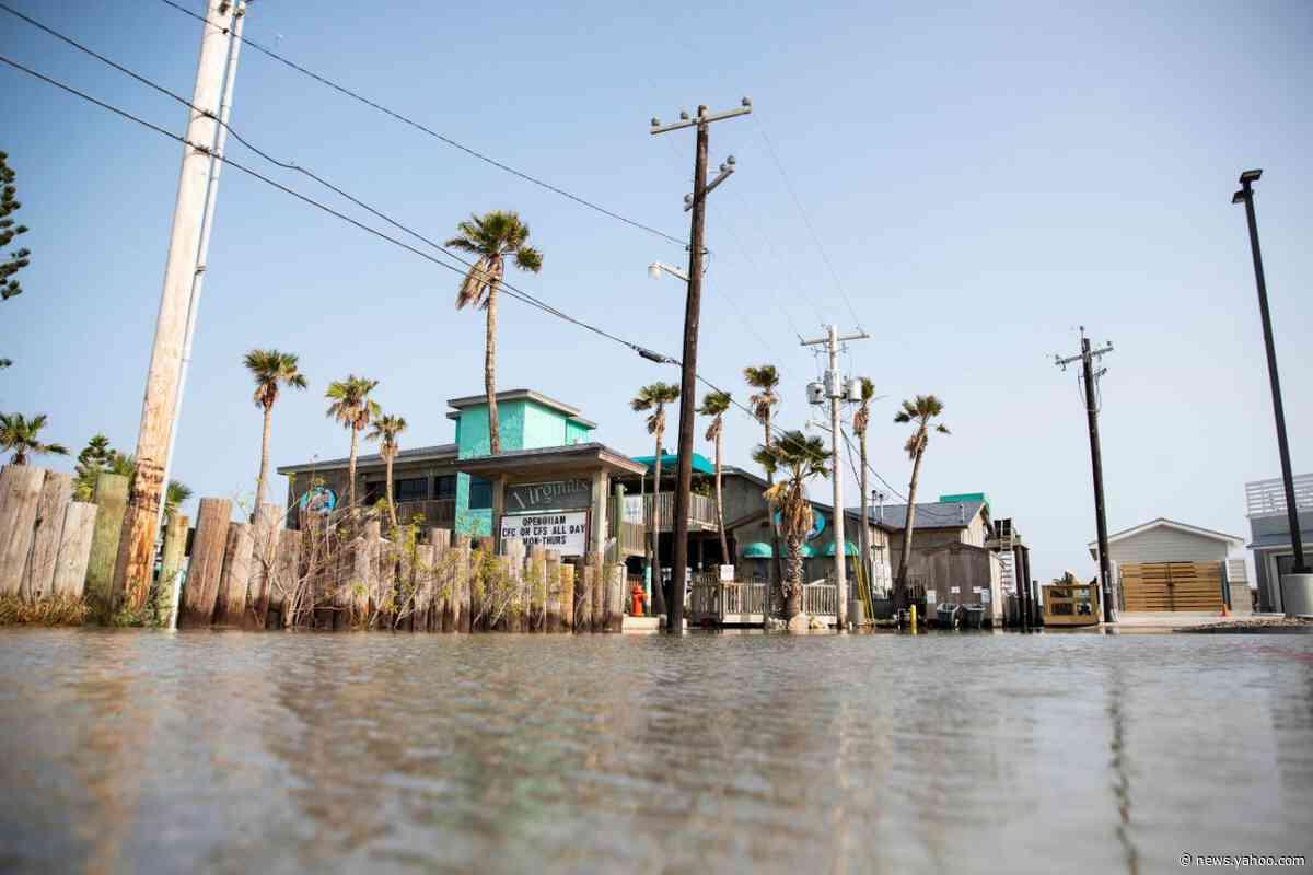 Tropical Storm Beta forecast to make landfall Monday in hurricane-weary Gulf Coast