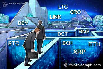 Price analysis 9/21: BTC, ETH, XRP, BCH, DOT, BNB, LINK, CRO, LTC, BSV - Cointelegraph