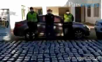 En Roldanillo, un hombre fue capturado cuando movilizaba 357 kilos de marihuana en un carro - El País – Cali