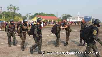 Operação Amazônia encerra com salto de paraquedas em Humaitá, AM - Diário da Amazônia