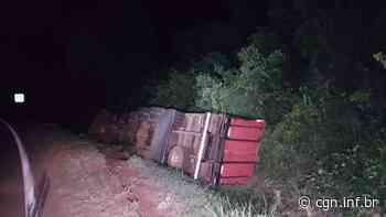 Jovem fica ferida em acidente com caminhão em Rio do Salto - CGN