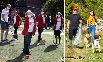 Wilko and Walkers staff make a clean sweep and join great British litter-pick