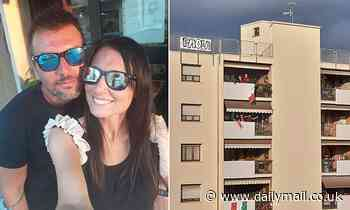 Italian couple who spotted each other from neighbouring balconies  reveal they are to marry