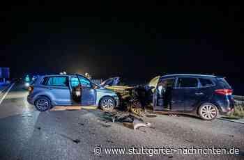 B464 zwischen Grafenau und Magstadt - Zwei Schwerverletzte nach Frontalzusammenstoß - Stuttgarter Nachrichten