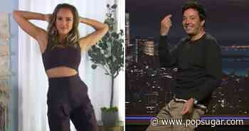 Jimmy Fallon Challenges Jessica Alba to a TikTok Dance-Off — Does He Know She's the Reigning... - POPSUGAR