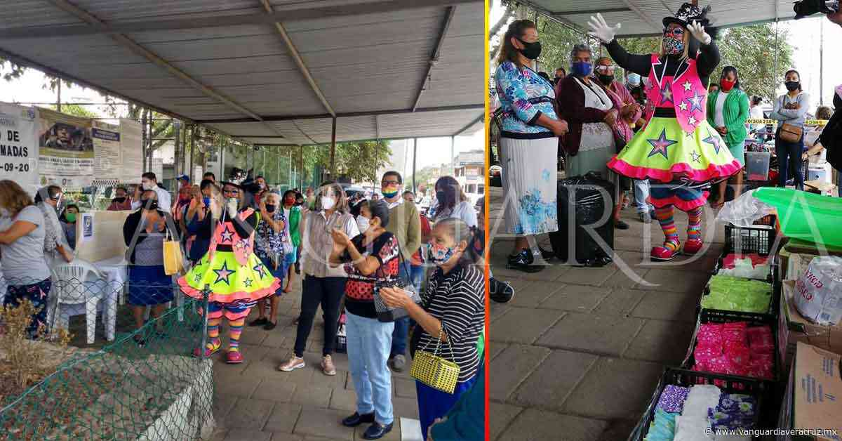 """""""Mariposas Tena"""" realiza colecta para internos del penal de Pacho viejo - Vanguardia de Veracruz"""