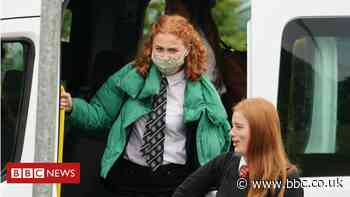 Covid: School bus drivers fearful of coronavirus infection risk - BBC News