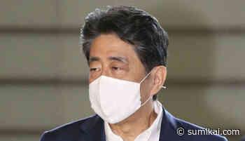 Japans ehemaliger Premierminister Shinzo Abe besucht umstrittenen Yasukuni-Schrein - Sumikai