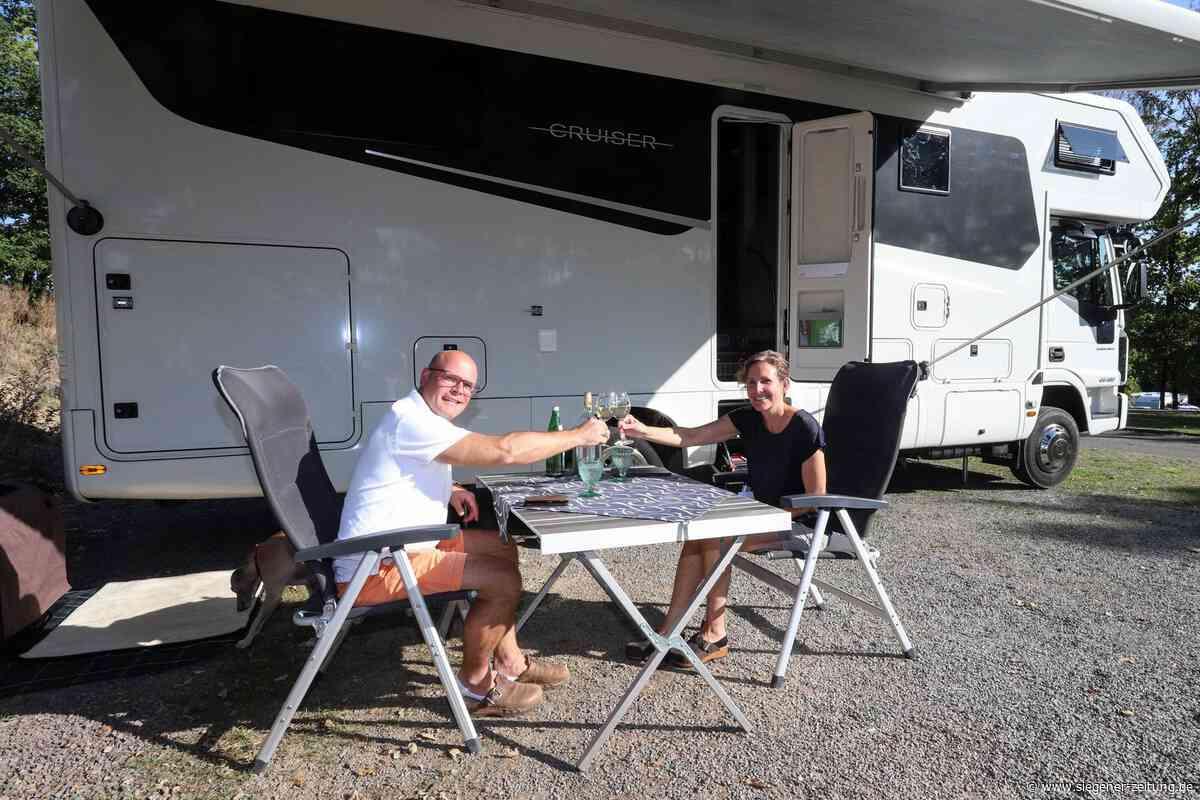 Camping-Urlaub: Biggesee Ziel für Wohnmobil-Enthusiasten - Siegener Zeitung
