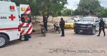 Choque entre dos motos deja tres lesionados en La Cruz de Elota, Sinaloa - DEBATE