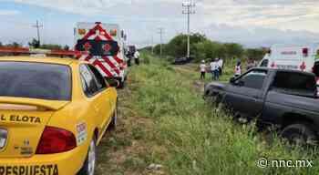 Sinaloa. Muere hombre tras volcadura en la Cruz de Elota - nnc.mx