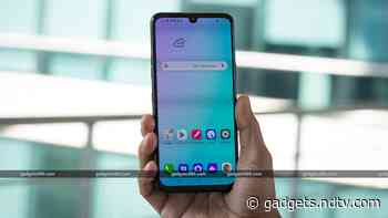 LG G8X ThinQ Receiving Android 10 Update With LG UX 9.0 in India, Update Timeline Revealed for Other LG Phones