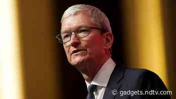 Apple CEO Tim Cook Says Fires, Storms Show Impact of Climate Change