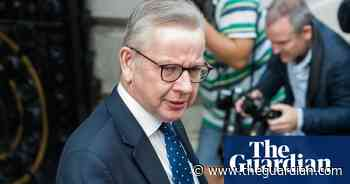 Work from home if you can, says Michael Gove - The Guardian