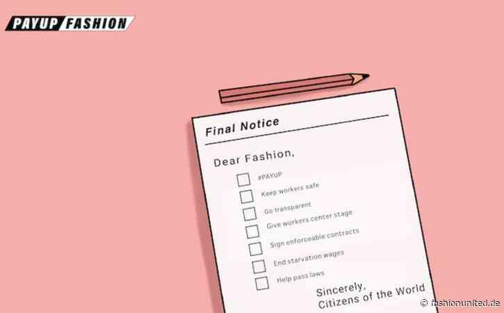 Neue PayUp Fashion-Initiative will Zukunft der Branche sichern