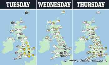 Summer is over! Temperatures are set to plummet as today's autumn equinox brings wind and rain