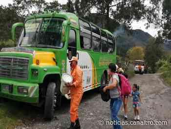 Inició operaciones de transporte intermunicipal desde Herrán y Ragonvalia - Canal TRO