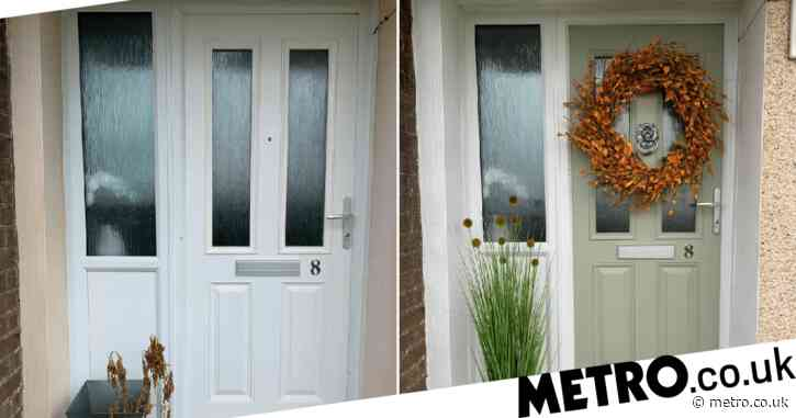 Mum who saw ornate door for £850 makes her own for just £30