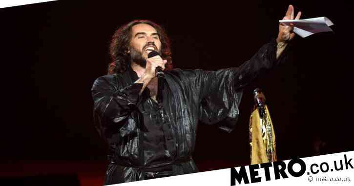 Russell Brand called 'patronising' after being 'surprised' by working class men's vocabulary