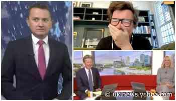 BBC Breakfast's Charlie Stayt Throws Weather Presenter Matt Taylor Under The Bus Ahead Of Rick Astley Interview