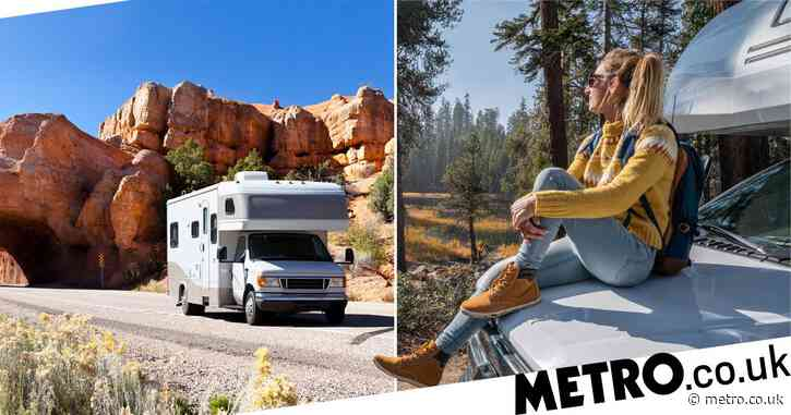 You can get paid £38,000 to explore US national parks in a camper van
