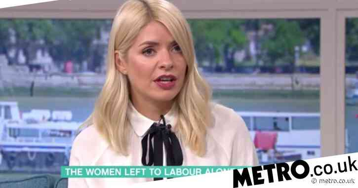 Holly Willoughby picks apart 'horrific' Covid laws forcing pregnant women to attend scans without partners