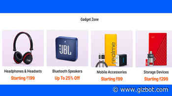 Paytm Mall Gadget Zone 2020: Offers On Electronic Gadgets - Gizbot