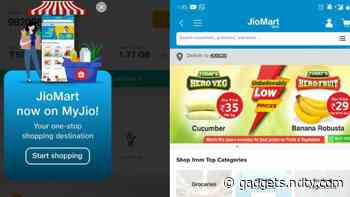 JioMart Integration Allows MyJio App Users to Order Groceries in Over 200 Cities
