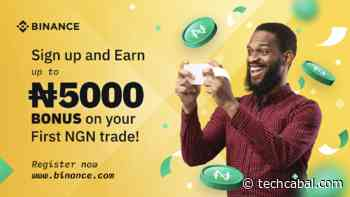 Earn Up To 5000 NGN Just By Signing Up On Binance.com - TechCabal