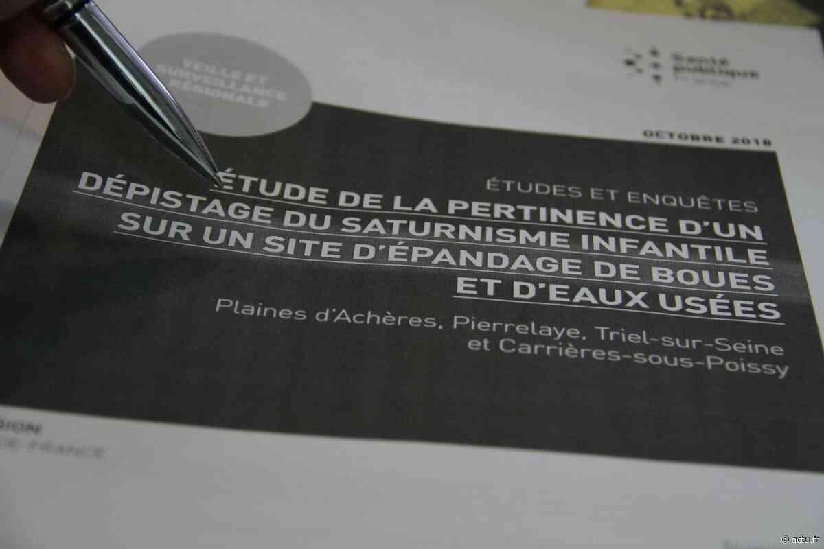 Yvelines. Pollution aux métaux lourds à Carrières-sous-Poissy : la Ville dépose plainte contre X mais vise le Siaap - actu.fr