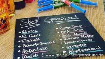"""Anstoßen mit der """"Hafennutte"""": Bar in Bayern bietet besonderes """"Shot-Special"""" - und löst Debatte aus"""
