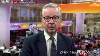 Michael Gove: Plans to let fans back into English sporting venues paused