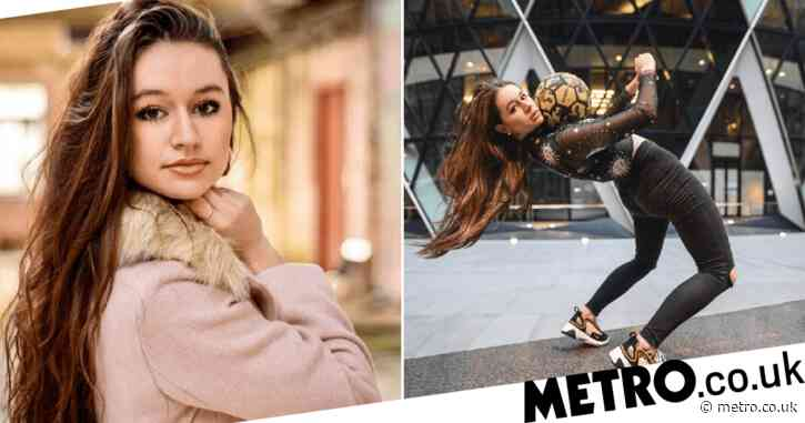 Lia Lewis: Freestyle football TikTok star tackles her fear of failure to inspire young girls