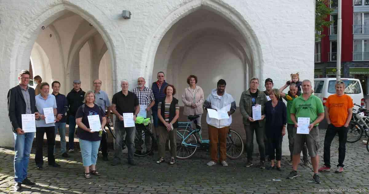Aktion Stadtradeln in Erkelenz: Den Drahtesel dreimal um die Erde bewegt - Aachener Zeitung