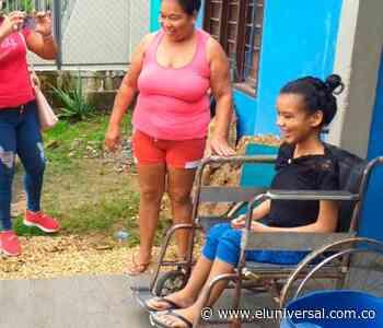 Donan silla de ruedas eléctrica en Coveñas a adolescente con distrofia - El Universal - Colombia