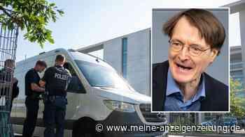 Sprengstoff-Alarm im Bundestag: Verdächtiges Paket an Karl Lauterbach adressiert - nun ist sein Inhalt bekannt