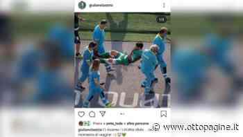 Avellino, messaggio di Laezza su Instagram dopo l'infortunio - Ottopagine