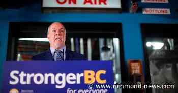 John Horgan calls an election in British Columbia for Oct. 24 - Richmond News