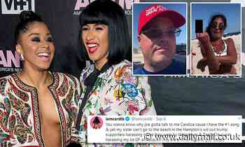 Cardi B sued for defamation by group of Long Island beachgoers