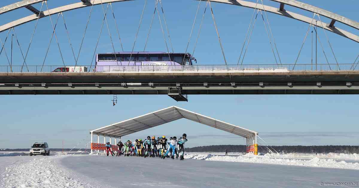 Nieuw parcours voor natuurijswedstrijden Luleå, zónder brug