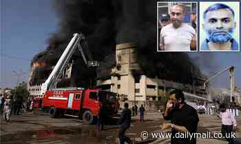 Two politically connected arsonists sentenced to hang for Karachi fire that killed 260 people