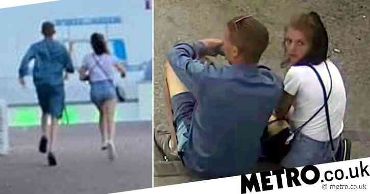 Laughing couple run away from restaurant after racking up £100 bill