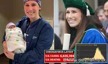 Texas doctor, 28, dies following two month COVID battle after she became infected treating patients