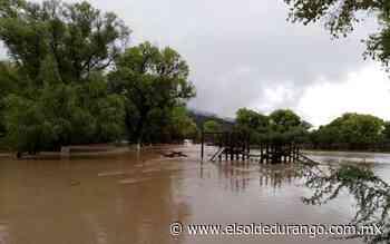 Incomunicadas 90 familias de Buenavista, comunidad de Rodeo - elsoldedurango.com.mx