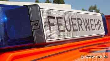 Schweißarbeiten verursachen Brand auf Werft - NDR.de