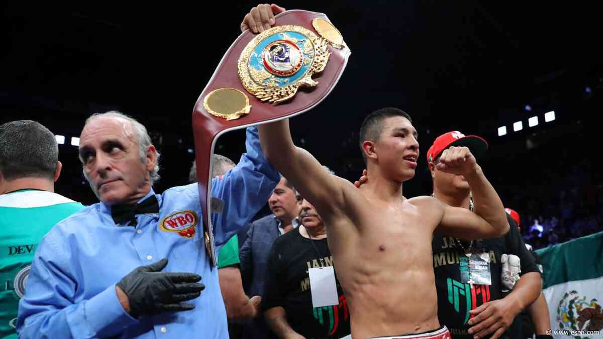 Former WBO champ Munguia to fight Tureano
