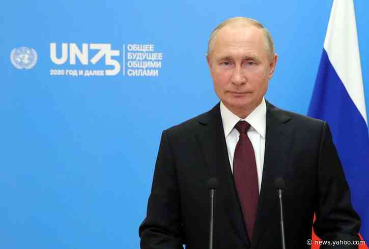 Russia's Putin says strengthen WHO, proposes conference on coronavirus vaccine